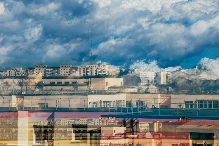 photography, doubleexposure, architecture - cataluna | ello