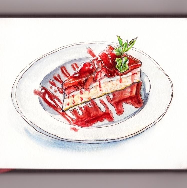 Detail - watercolor, watercolour - doodlewash   ello