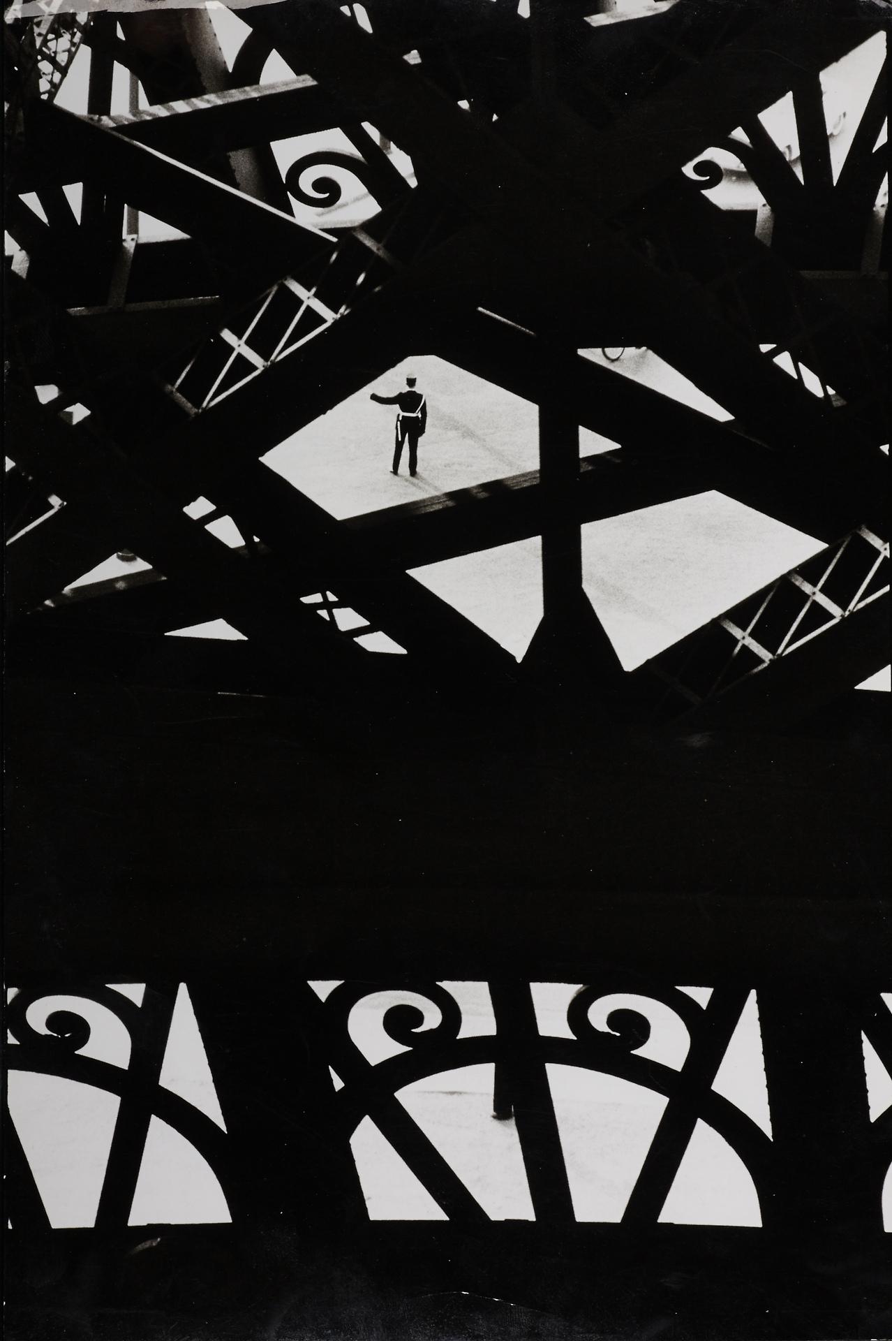 Marc Riboud: Eiffel Tower, 1964 - arthurboehm | ello