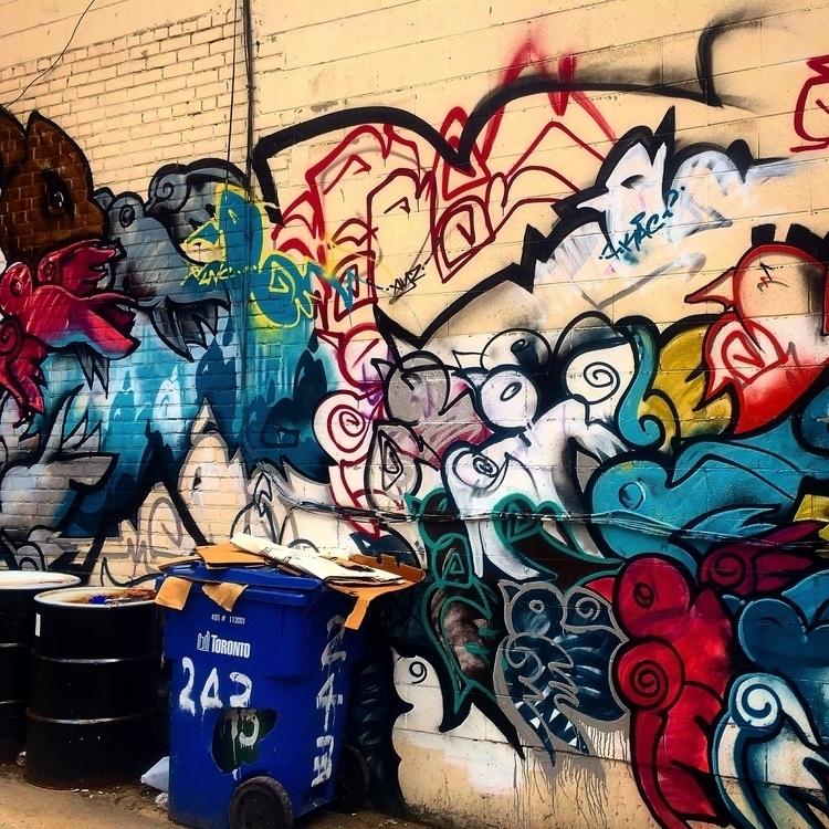 Rainbow Garbage Walk Toronto 20 - dainahodgson | ello