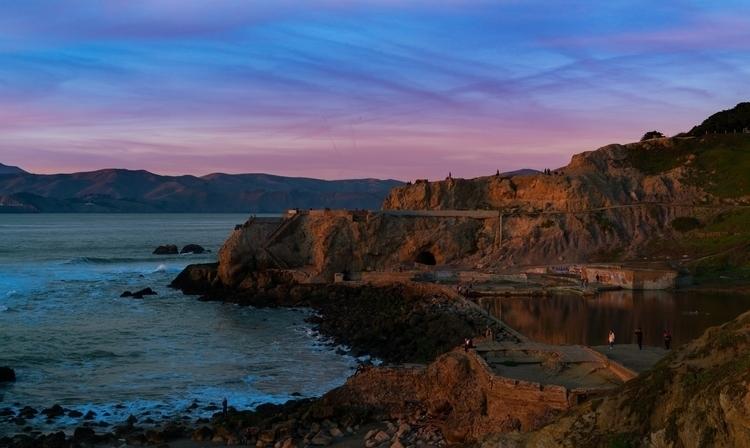 Sutro Baths remnants left popul - rickschwartz | ello