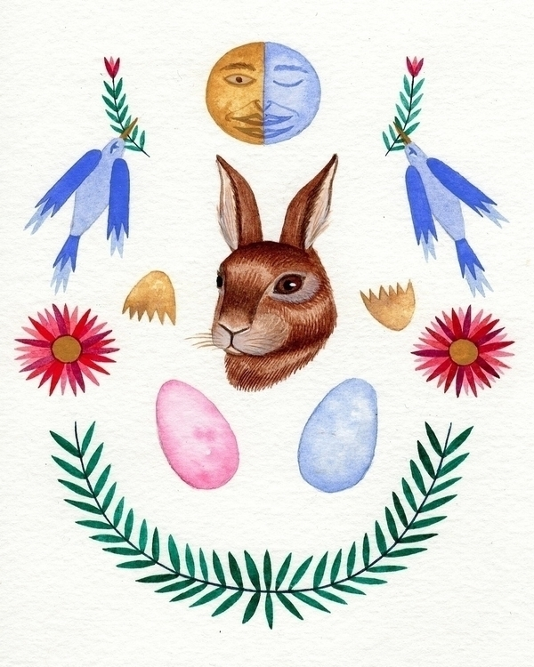 Happy start spring/ostara/aries - caitlinmcdonagh | ello