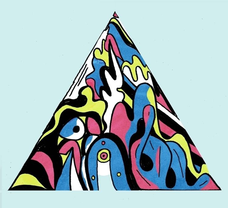 Pyramid - art, design, illustration - dylansgriffith | ello