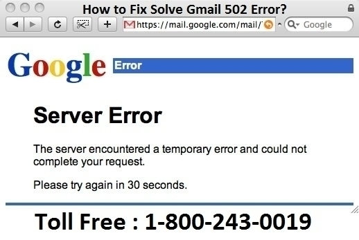 Fix Solve Gmail 502 Error? Step - jhonsmith | ello