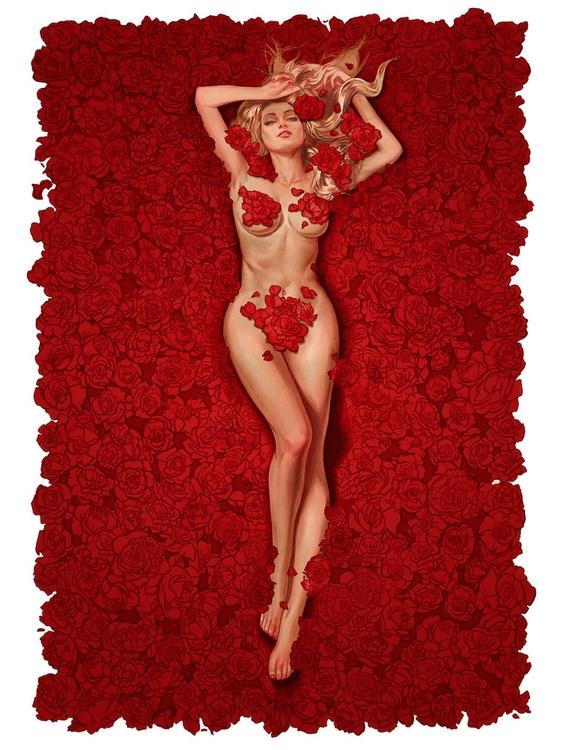 'American Beauty' inspired 'Sub - geekynerfherder | ello