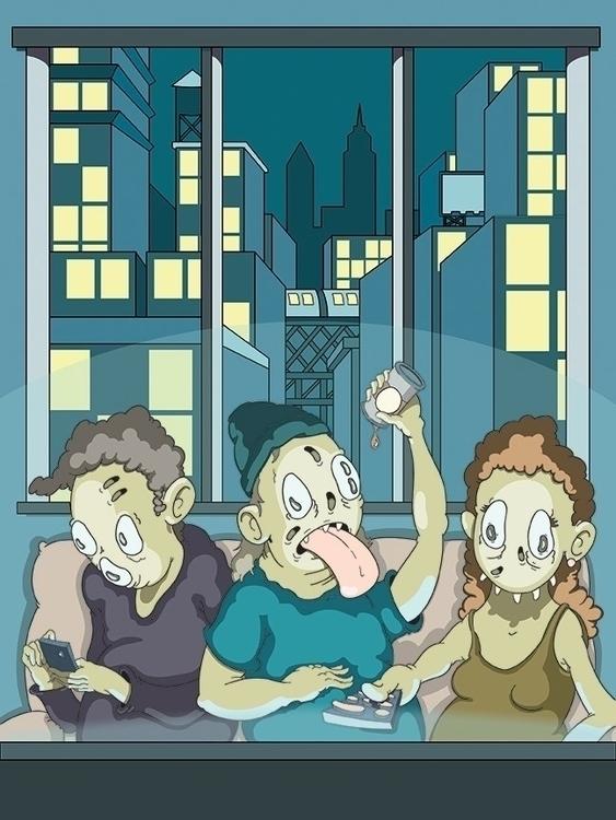Jeff Gess illustrator working B - fabrik | ello
