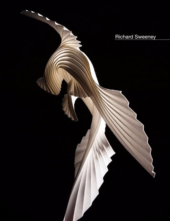 Discover paper sculpture Richar - velvetandpurple   ello