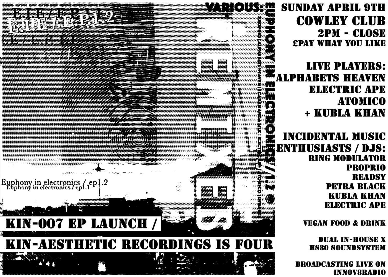 upcoming celebrations... Euphon - kin-aesthetic-recordings   ello