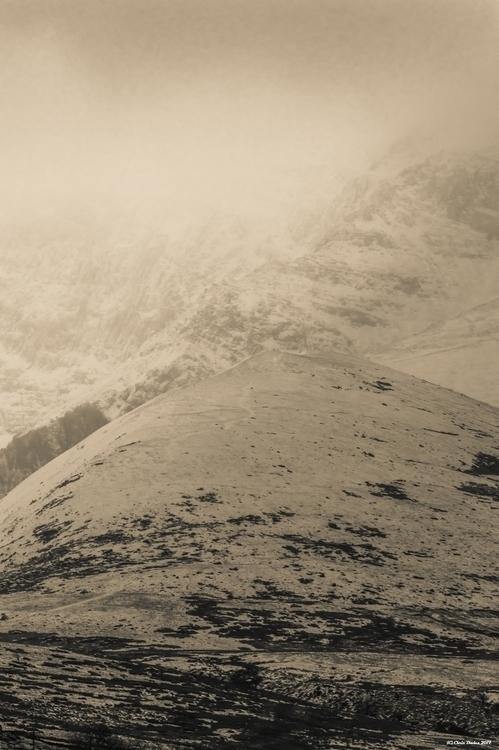 winter, mountains, snow, nature - tecnonaut | ello