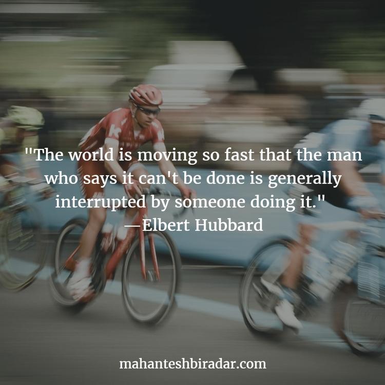 world moving fast man generally - dailyinspiration   ello