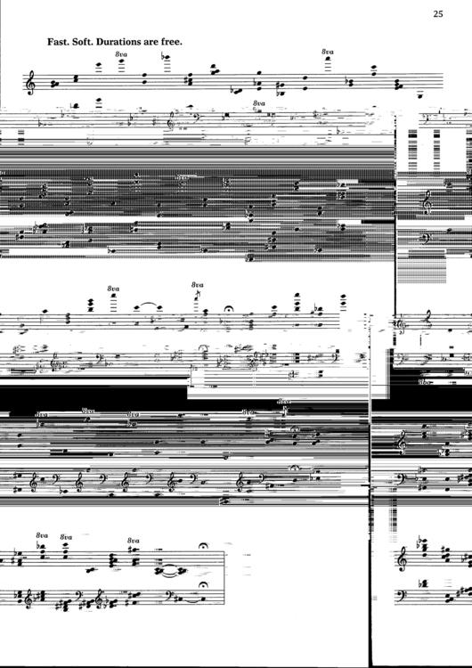 Morton Feldman - Pieces surely  - uca | ello