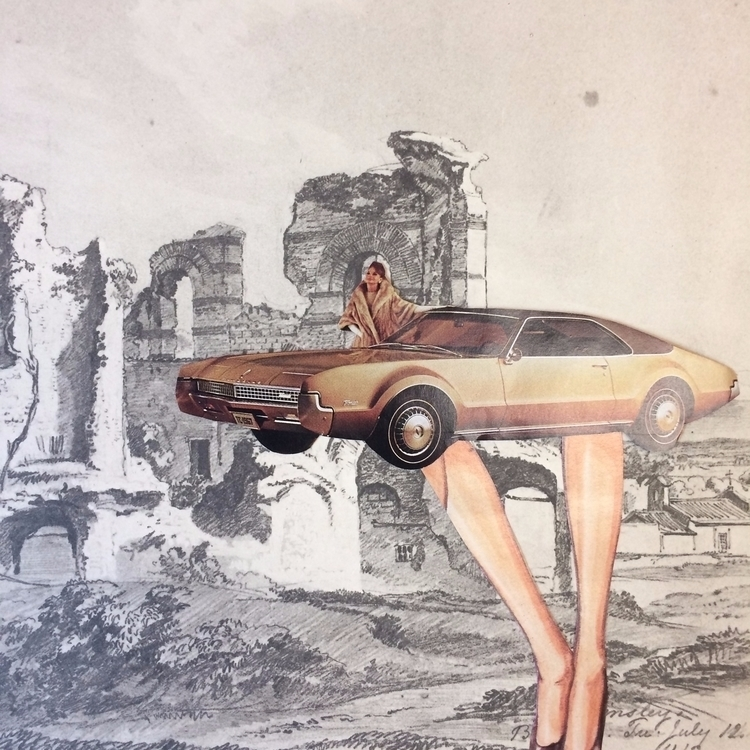 empire series. Ruins 01 - cars, vintagecars - danielletcole | ello