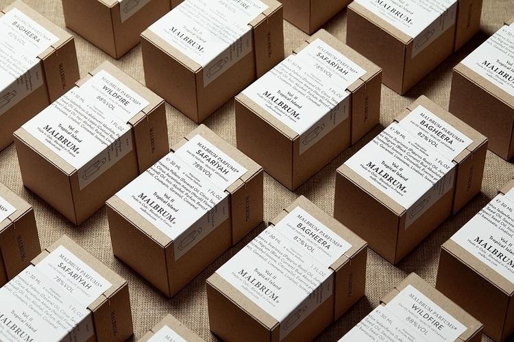 Packaging fragrance brand Malbr - northeast | ello