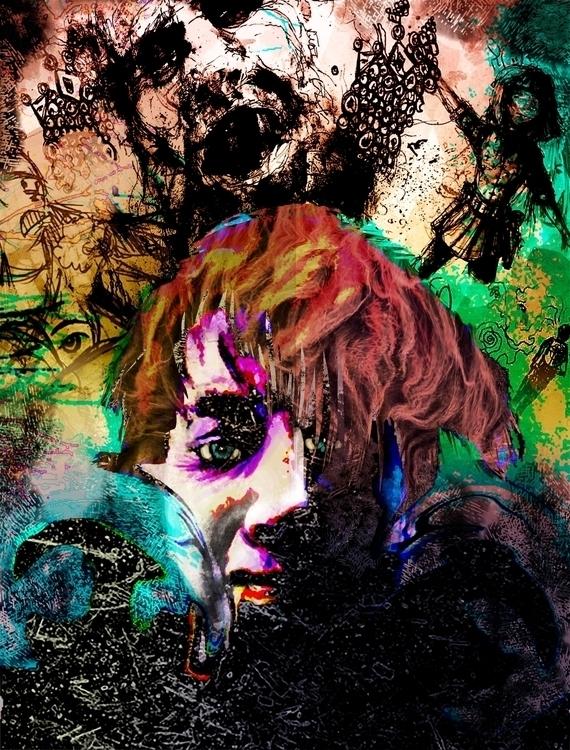 random art day portrait - lsismoresaidtheseismiccow | ello