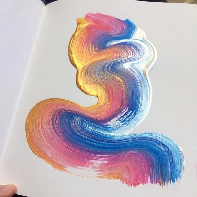 texture, art, abstract, brushstroke - dhuston | ello