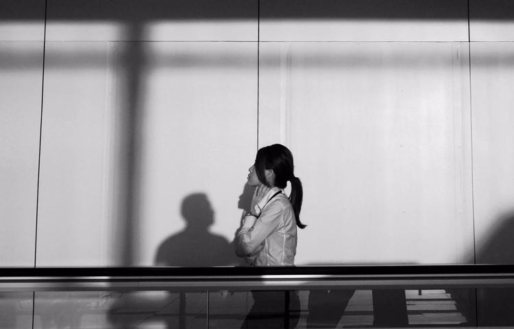 Shadows snapped photo Hong Kong - zrocool | ello