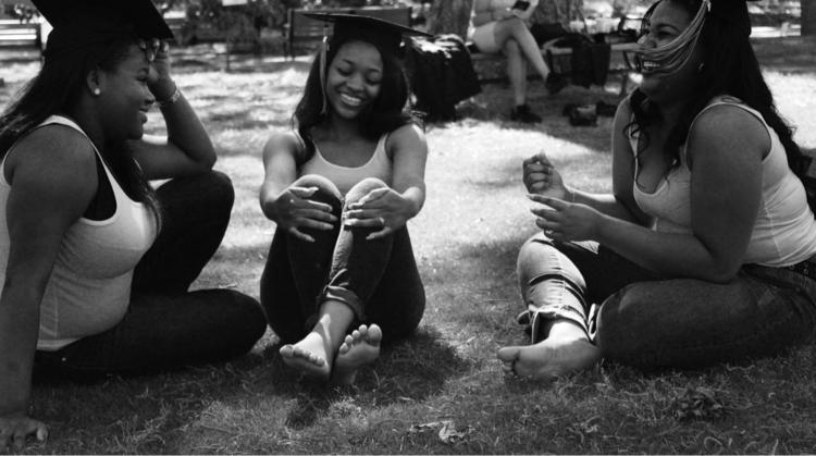Friendship - friends, blackandwhitephotography - saywhahnah | ello