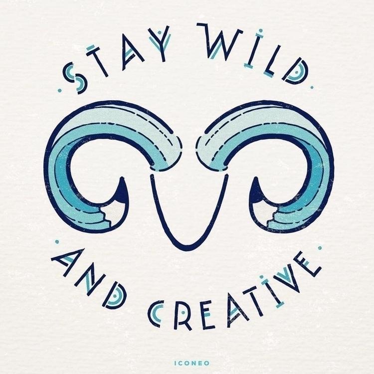 Stay Wild Creative - illustration - iconeo | ello