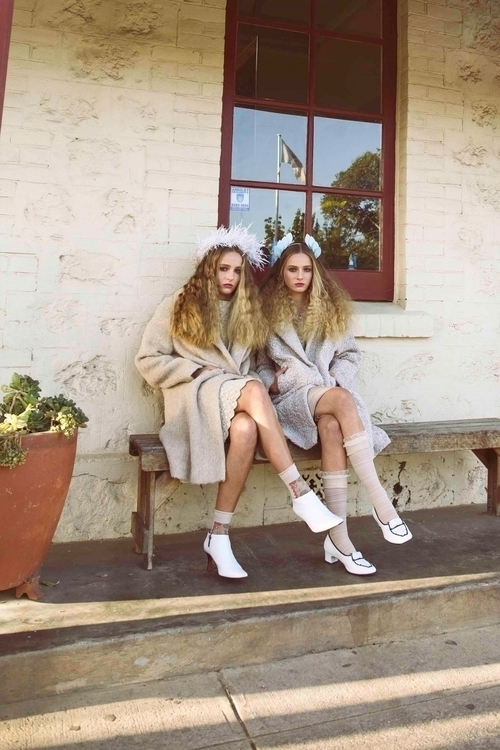 Twins fashion story, photograph - fabrik | ello