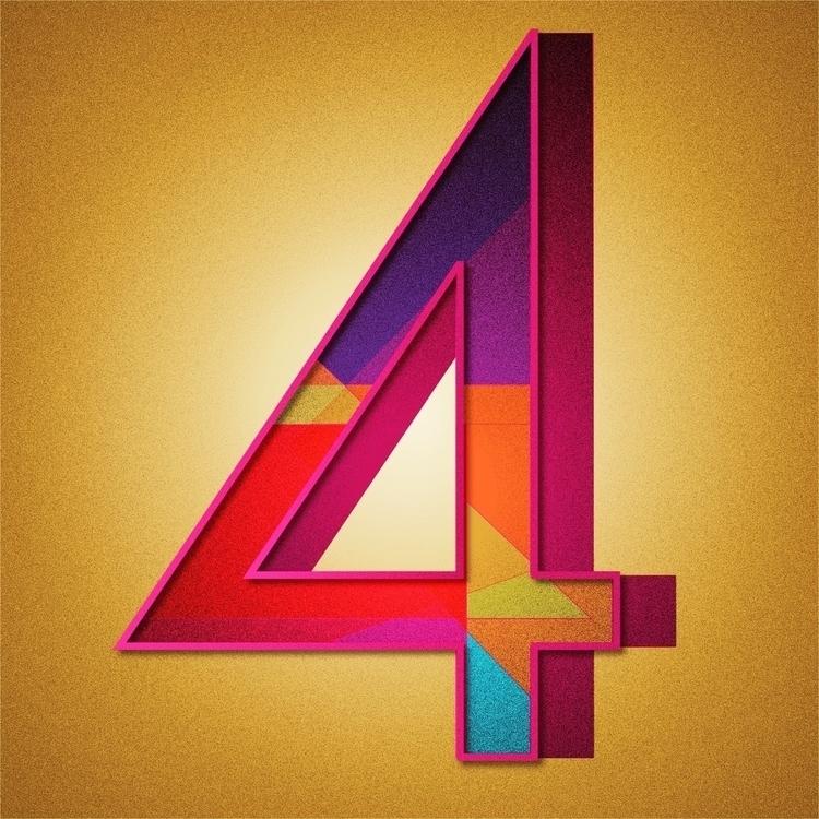 36daysoftype, 36days_4, typography - tif_flowers   ello