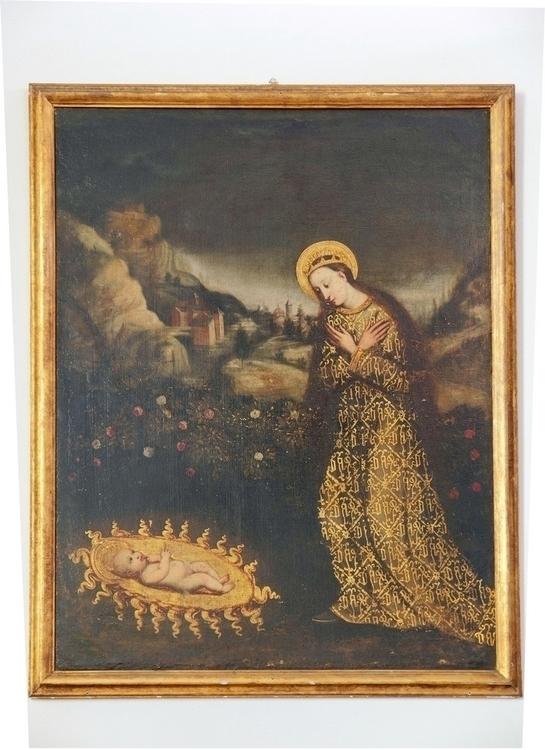 Milan (Italy): Painting Saint M - milanofotografo | ello