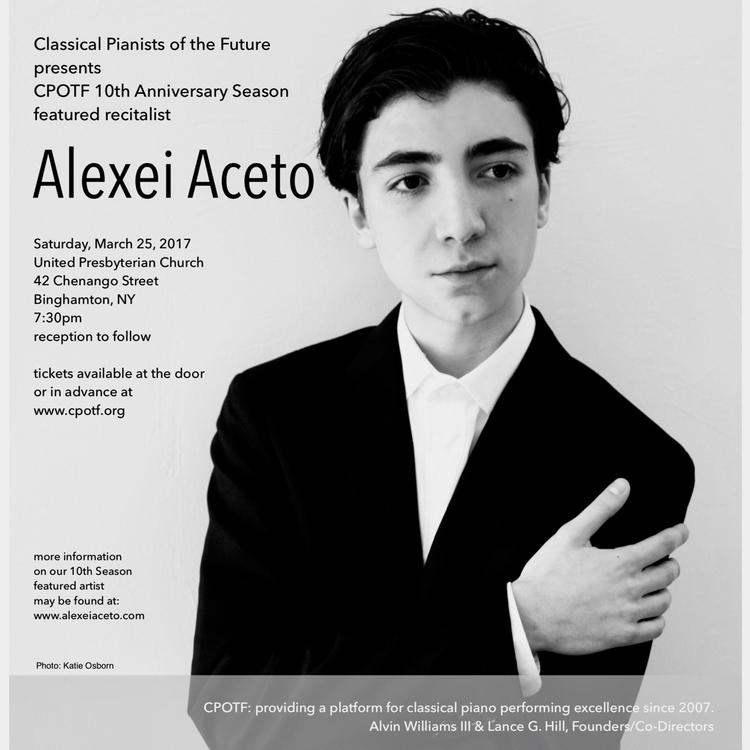 Preparing solo recital Saturday - alexei_aceto   ello
