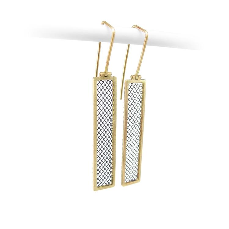 14k yellow gold oxidized silver - acebojewelry | ello