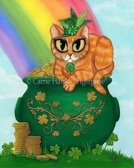 happy share St. Day Cat Origina - tigerpixie | ello