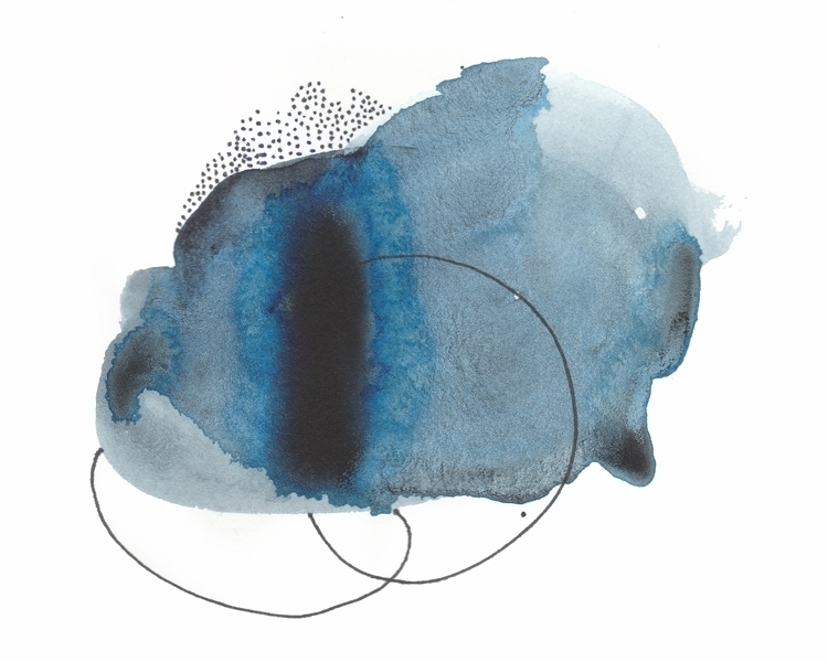 Abstract Blue - adriluna | ello