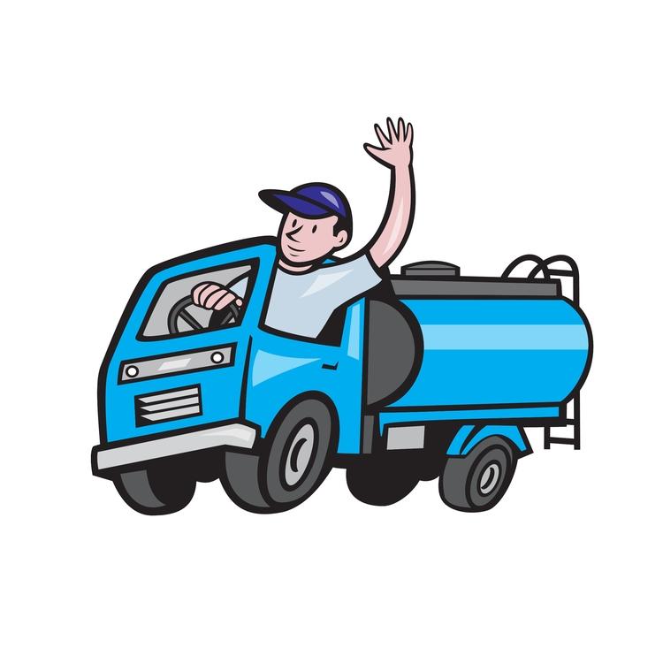 Baby Waving - Tanker, Truck, Driver - patrimonio | ello