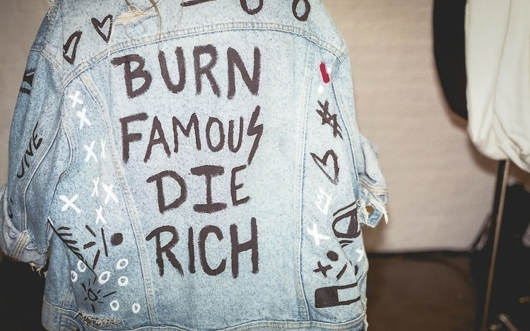 Burn Famous Die Rich - photography - danbassini | ello