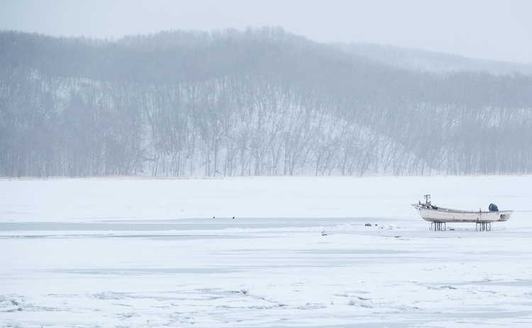 Lake Saroma - Hokkaido, Japan, landscape - nickpitsas   ello