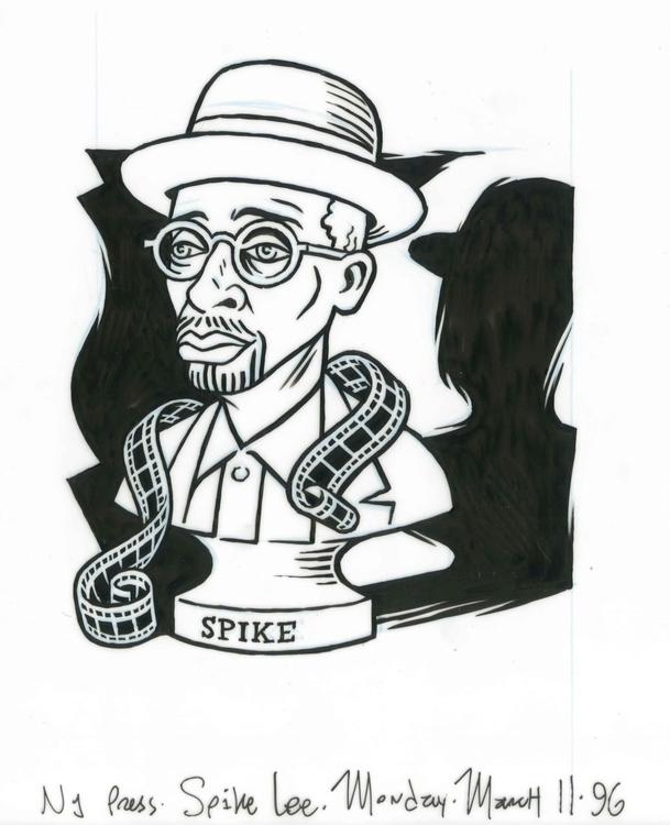 Spike Lee illo NYPress, 3/11/96 - dannyhellman   ello