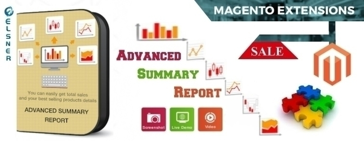 Advanced Summary Report - Showi - elsnermagento | ello