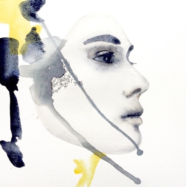 akvarell, watercolor, neutraltint - vasagatan | ello