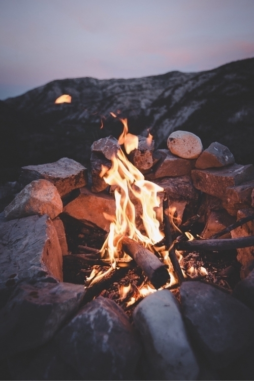 Campfire nights - photography - chriscauble | ello