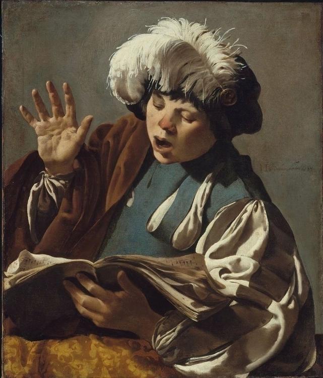 Hendrick ter Brugghen: Boy Sing - arthurboehm | ello