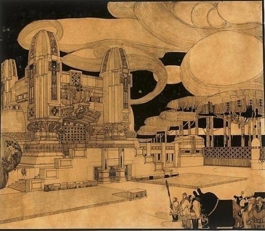 Antonio Sant'Elia, design futur - arthurboehm | ello