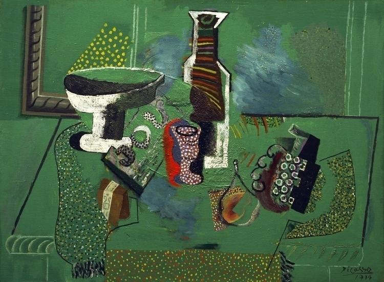 Pablo Picasso: Green Life, 1914 - arthurboehm | ello