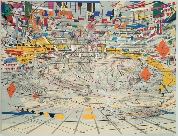 Julie Mehretu: Strada II, 2014 - arthurboehm | ello