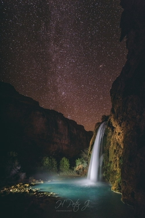Havasupai people fall night sky - scorpioonsup | ello