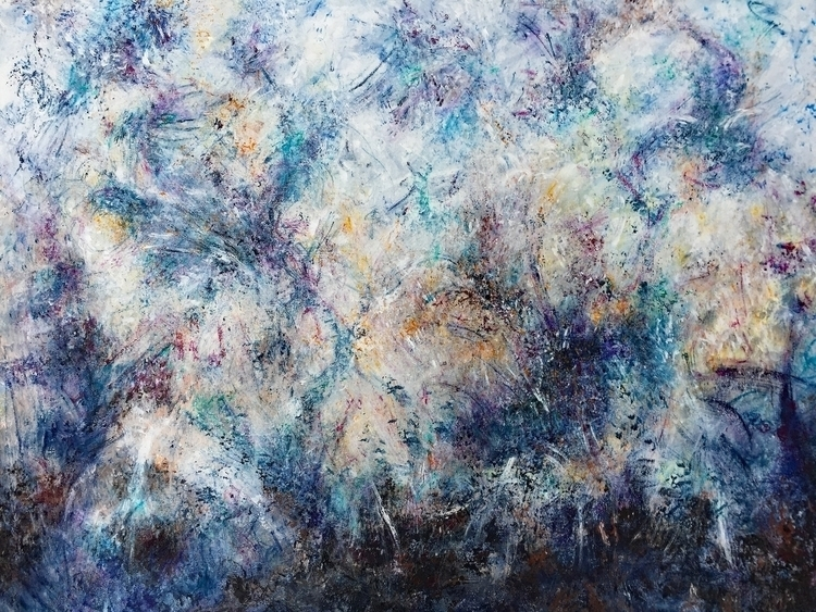 Chai Acrylic canvas 30 40 - art - geralyninokuchi   ello