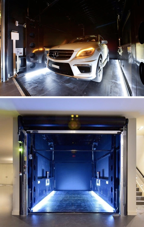 disappearing garage lowers grou - red_wolf | ello
