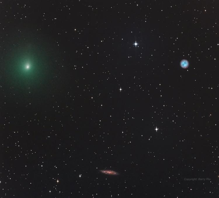 Comet, Owl, Galaxy - comet, owl - valosalo | ello