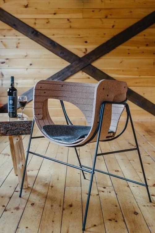 Combining Cork Recycled Rubber  - letsdesigndaily | ello