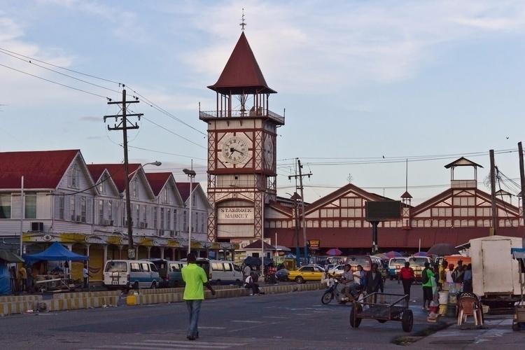 Stabroek Market Andrew Moore - Guyana - guyfrog16 | ello