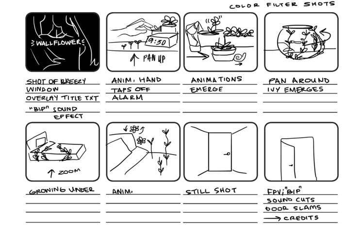 Project 3 Storyboard - ramorris | ello