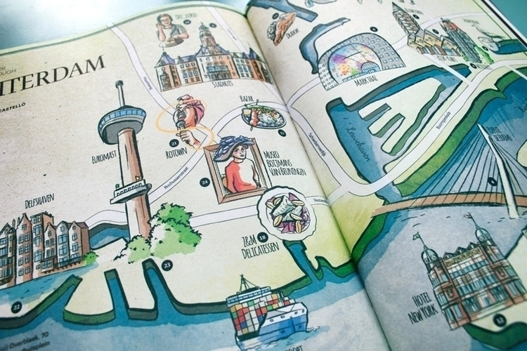 Map Rotterdam Issue Ling Magazi - mariacastellosolbes | ello