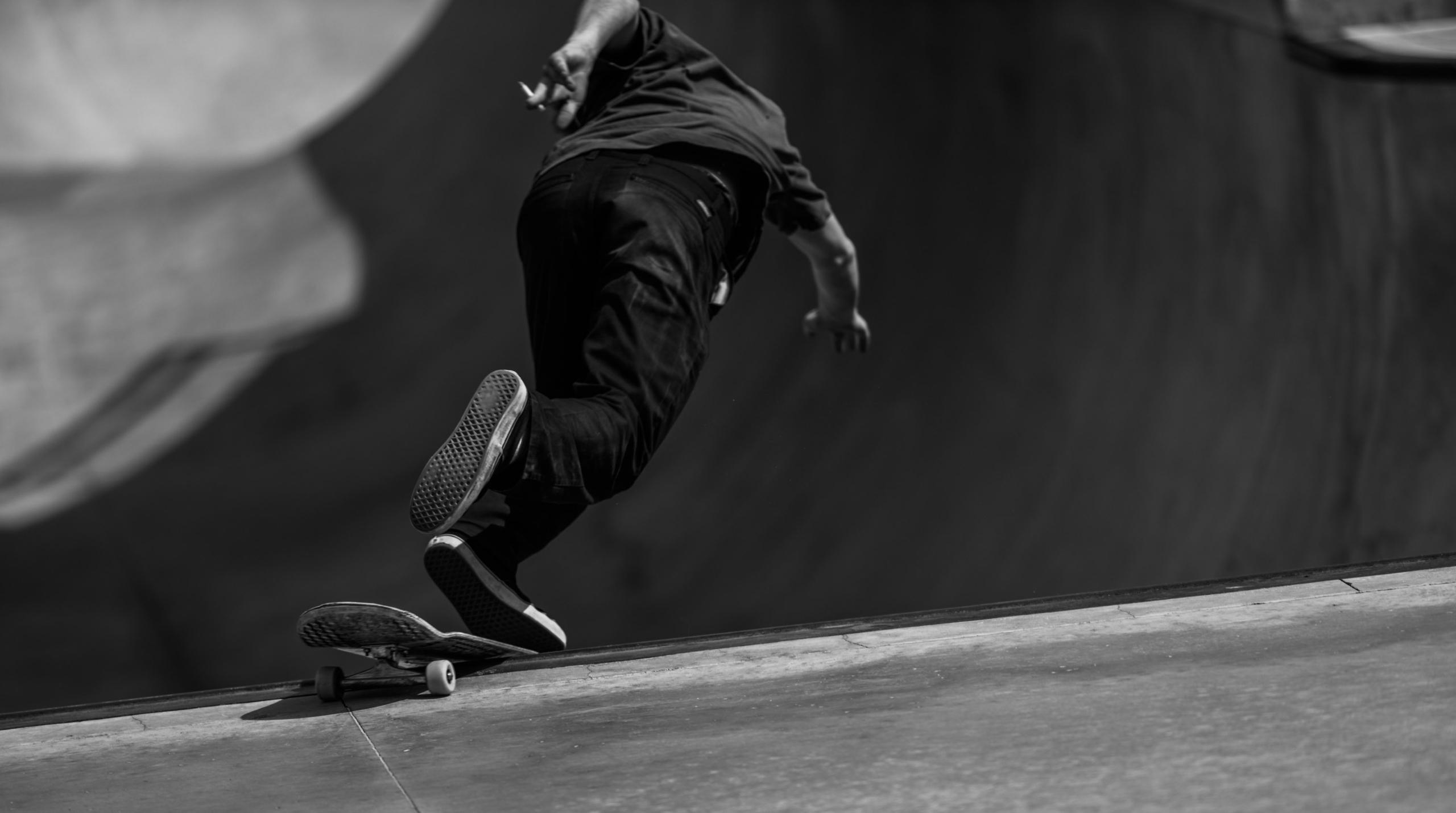 skate park days - blackandwhite - ben-staley | ello