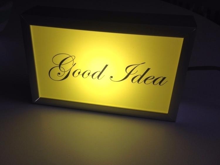 Light time good idea! check 'go - nathaliequagliotto | ello